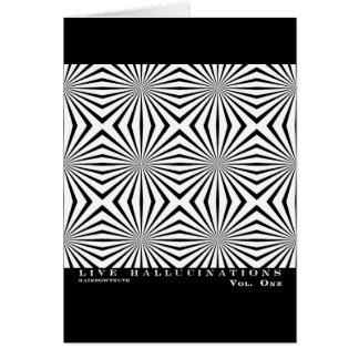 Rainbowtruth Live Hallucinations Optical Illusion Card