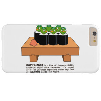 < Raincoat winding > KAPPA-MAKI Barely There iPhone 6 Plus Case