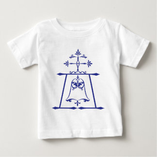 Raincross - Blue - Connie Lea Design Baby T-Shirt