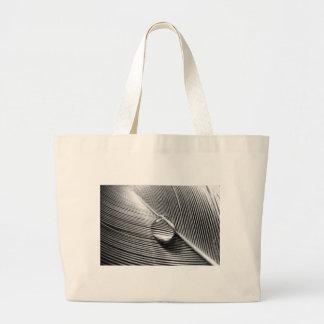 Raindrop on Leaf Bag