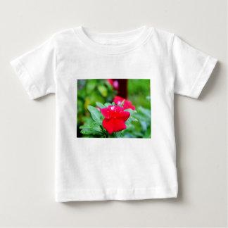 RAINDROP ON PINK FLOWER QUEENSLAND AUSTRALIA BABY T-Shirt