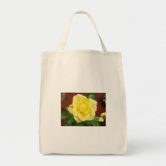 Raindrop Rose Grocery Bag