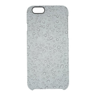 Raindrops Clear iPhone 6/6S Case