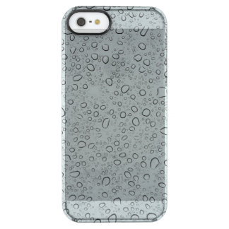 Raindrops Clear iPhone SE/5/5s Case