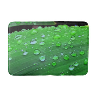 Raindrops Closeup Bath Mat