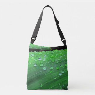Raindrops Closeup Crossbody Bag