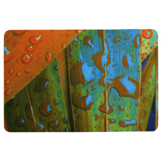 Raindrops Go Tropical Floor Mat
