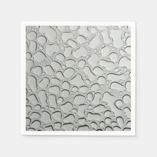 Raindrops on Glass Roof Paper Napkin
