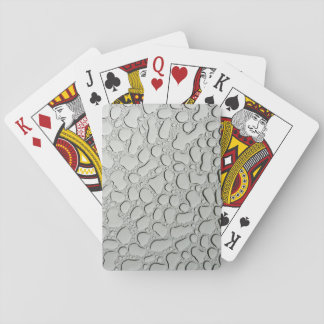 Raindrops on Glass Roof Playing Cards