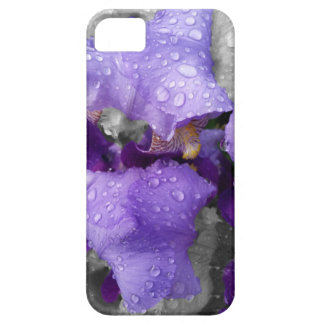 raindrops on iris case for the iPhone 5