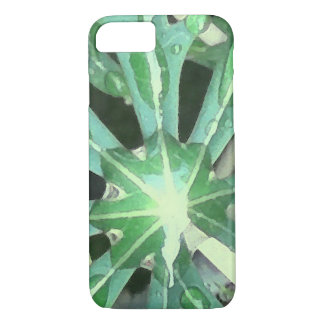 Raindrops on Leaves iPhone 7 Case