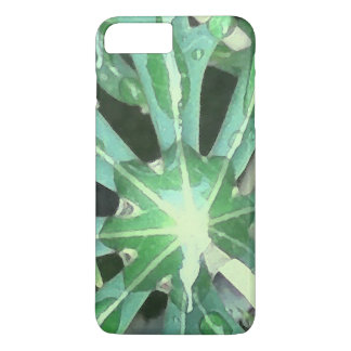 Raindrops on Leaves iPhone 8 Plus/7 Plus Case