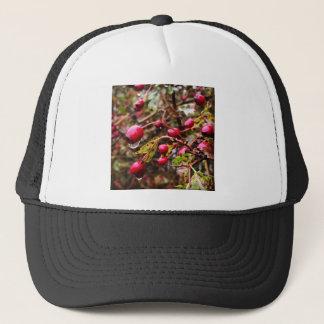 Raindrops On Rosehips Trucker Hat