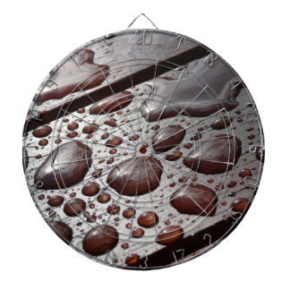 Raindrops on the Picnic Table Dartboard