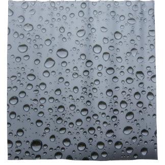 Raindrops on Windowpane Shower Curtain