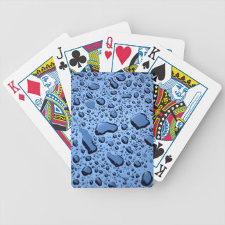 Raindrops Pattern Playing Cards