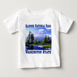 Raineer National Park - Washington State Baby T-Shirt