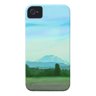 Rainer water color iPhone 4 case