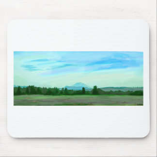 Rainer water color mouse pad