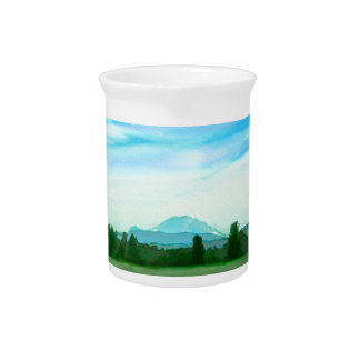 Rainer water color pitcher