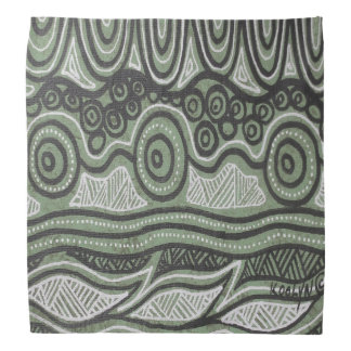 Rainforest Camp Aboriginal Bandana