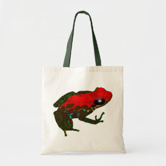 Rainforest Dart Frog Tote Bag