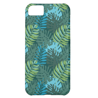 Rainforest Jungle Leaf Pattern iPhone 5C Case