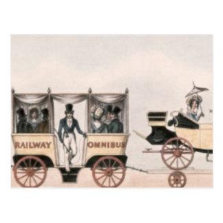 Rainhill trials,'Novelty',the unsuccessful Postcard