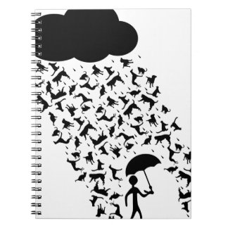 Raining Cats and Dogs Notebook