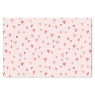 Raining Hearts Tissue Paper