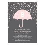 Raining Love Bridal Shower Invitation (Pink)