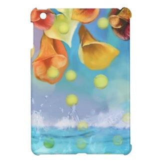 Raining tennis balls over the sea. case for the iPad mini