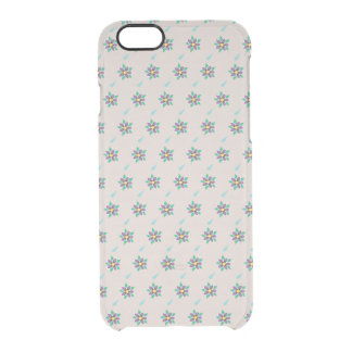 Raining Violets iPhone 6/6S Clear Case
