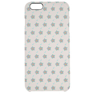 Raining Violets iPhone 6+ Clear Case Uncommon Clearly™ Deflector iPhone 6 Plus Case