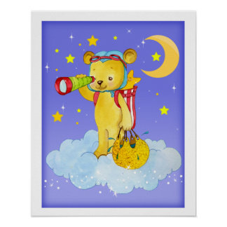 Rainmaker Teddy Bear Poster