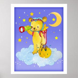 Rainmaker Teddy Bear Poster