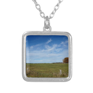 Rains Farm St Joseph Island Silver Plated Necklace
