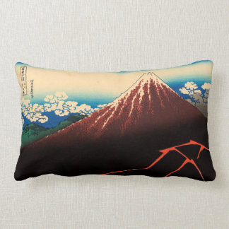Rainstorm Beneath the Summit Lumbar Pillow