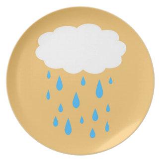 Rainy Cloud Plate