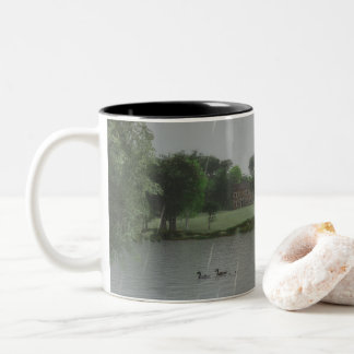 Rainy Day at the Lake Mug