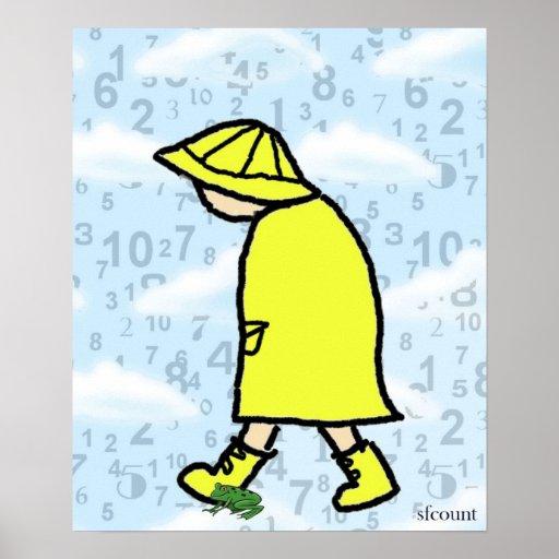 Rainy Day Boy Print
