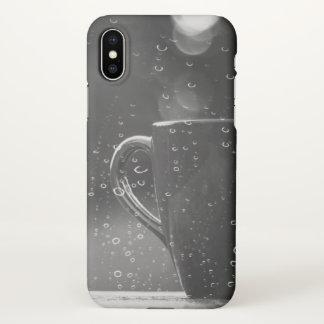 Rainy Day Coffee iPhone X Case