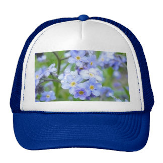 Rainy Day Forget Me Nots Hat