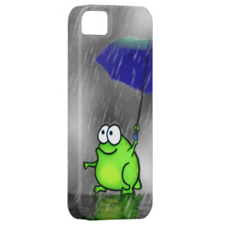 Rainy Day Frog Case For The iPhone 5