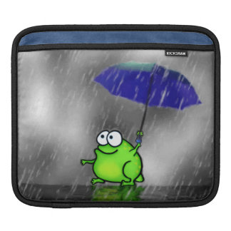 Rainy Day Frog Sleeve For iPads