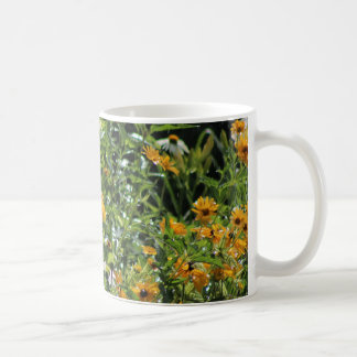 Rainy Day Hydrangea Gloriosa Daisies Coffee Mug