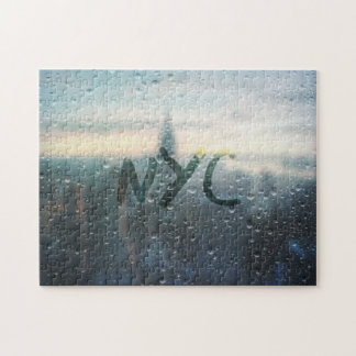 Rainy Day in NYC Jigsaw Puzzle