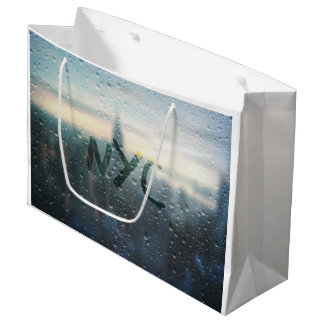 Rainy Day in NYC Large Gift Bag