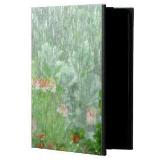 Rainy Day in Summer Flower Garden iPad Air 2 Case