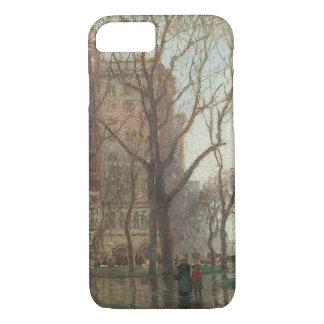 Rainy Day, Madison Square, New York, Paul Cornoyer iPhone 7 Case